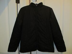 Women's Black Jacket with zip out liner ( medium)