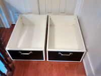 Rare Pottery Barn Kids under bed storage drawers