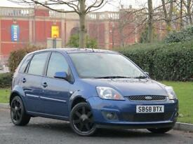 Ford Fiesta 1.25 2007.25MY Zetec Blue..FROM £14 P/W WITH £0 DEPOSIT