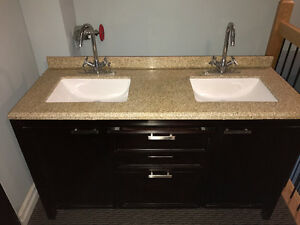 Double vanity for sale