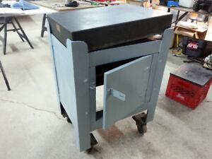 Machine tool table