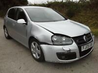 2009 Volkswagen Golf S 1.4 DAMAGED SPARES OR REPAIR SALVAGE