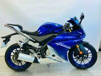 Yamaha YZF R125 ABS 1 OWNER, ONLY 2590 MILES !!