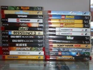 PS3 Game Console, and games for sale