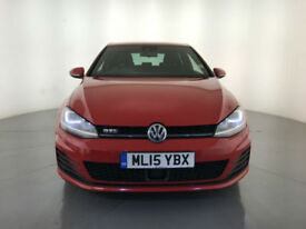 2015 VOLKSWAGEN GOLF GTD 182 BHP HEATED SEATS 1 OWNER VW SERVICE HISTORY