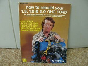HOW TO REBUILD VINTAGE FORD 4 CYL ENGINES