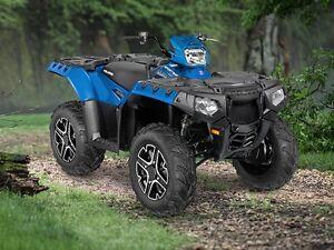 2016 Polaris Sportsman 850 SP Velocity Blue