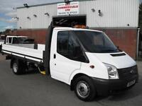 2014 FORD TRANSIT 125PS LWB E/FRAME 14FT ONE STOP DROPSIDE, 75K MILES, EXCELLENT