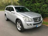 2007 MERCEDES GL320 3.0 CDI AUTOMATIC 4X4 7 SEATER TURBO DIESEL