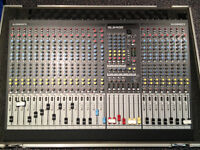 Allen and Heath GL2400/24 with Gator 24X36 Road Case