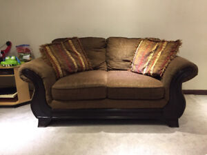 Couches and love seat for sale