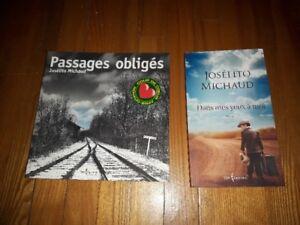 Lot de 2 livres de Josélito Michaud