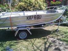 Tinny 14ft and Trailer - both registered Parkwood Gold Coast City Preview