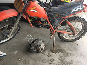 I'm looking for a motor for a 1984 xr200