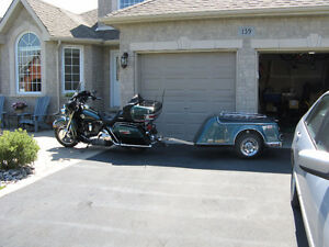2000 HARLEY DAVIDSON ULTRA CLASSIC WITH TRAILER