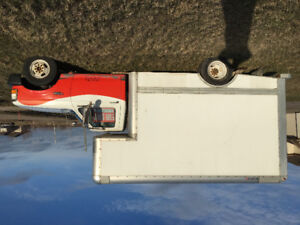 FORD F350, CUBE VAN, AUTOMATIC, AIR COND., $4150