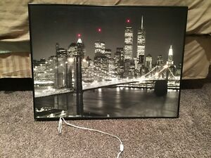 New York Lighted Picture