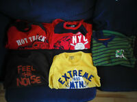 Boys Size 6 Long Sleeve Tee Shirts and Sweaters