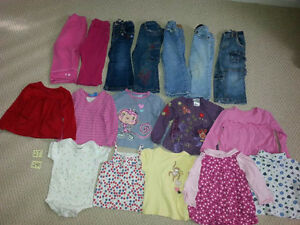 Girl's Size 2T/24M, 3T, and 4T Clothing for Sale!