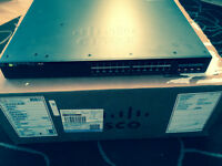 NEW Cisco Layer 3 Switch (WS-C3650-24PS-E) POE 10/100/1000 plus