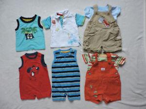 Summer baby boy lot size 3-6m