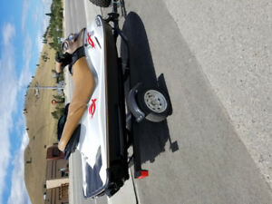 2004 Seadoo gti 710cc 3 seater with brand new trailer and cover.