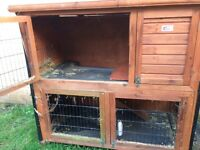 Rabbit hutches and runs for sale