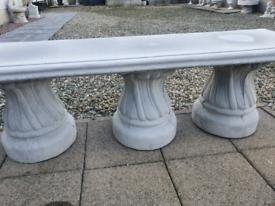 Concrete Garden Super Bench