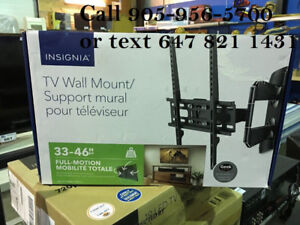 "Insignia 33"" - 46"" Full Motion TV Wall Mount"