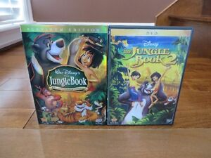 Disney: The Jungle Book, The Jungle Book 2 and Underdog DVD's