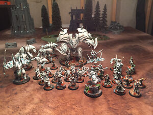 Warmachine Retribution of Scyrah Pro Painted Army