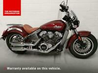 2018 Indian Scout Scout Petrol red Manual
