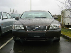 Volvo S80  Front bumber cover