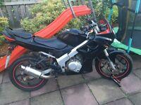 Yuan 125 motorbike