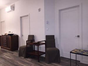 Condo 31/2 meublé édifice neuf