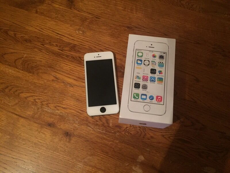 IPhone 5s 64 gbin Sheffield, South YorkshireGumtree - Silver IPhone 5s 64gb great condition and good working order comes with box no charger as it broke cheap enough to purchase. Touch screen can be temperamental since having new screen fitted hence price £100 no offers no swaps used on Vodafone unsure...