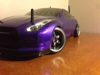 AWD Belt driven RC drift car (race ready)