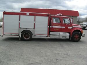 Fire truck rescue vehicle