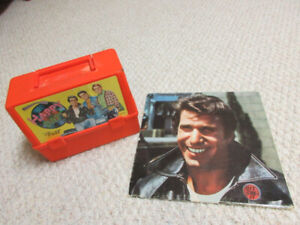 Vintage  Happy Days Lunch Box and Record