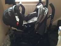 Mothercare curve travel system