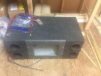 """12"""" Subs and Amps"""