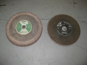 11 Concrete & Metal Abrasive Cut-Off Wheels
