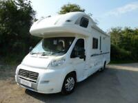 Bessacarr E765P. 2008. Rear Fixed bed. Over Cab Bed.