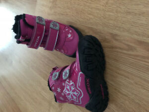 Geox - Toddler Fuscia Winter Boots