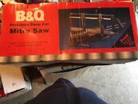 B&Q Precision Deep Cut Mitre Saw (never used)