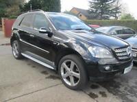 2008 08 Mercedes ML 320 CDi Edition 10 Black Sat Nav 20 Alloys