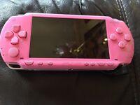 PINK PSP + GAMES £40!
