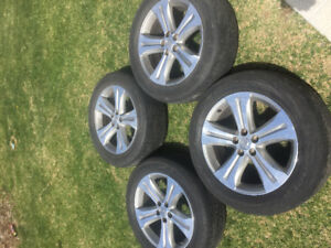 Toyota Highlander Rims and tires