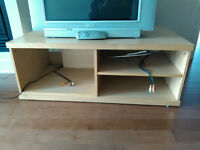 TV Stand Birch Wood Color