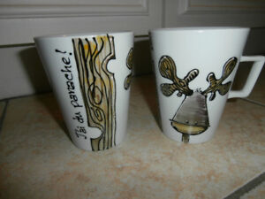 Belles tasses - Collection ANOU - J'ai du panache!